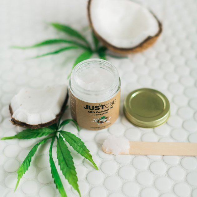 JustCBD CBD Honey Sticks & Coconut Oil picture